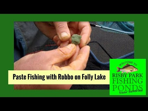How To Fish Paste At Risby Park Fishing Ponds With Robbo On Folly Lake