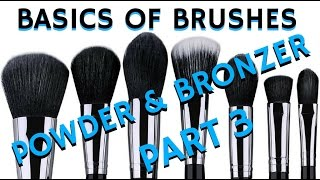 Must Have Makeup Brushes for Powder & Bronzer | MAKEUP TUTORIAL FOR BEGINNERS - mathias4makeup