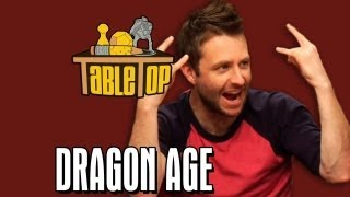Dragon Age: Chris Hardwick, Kevin Sussman, and Sam Witwer on TableTop, episode 19 pt. 1