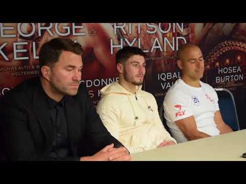 JOSH KELLY, ADAM BOOTH & EDDIE HEARN REACT TO COMMONWEALTH WIN OVER KRIS GEORGE (POST FIGHT)
