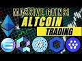 Trading Cardano ADA, ChainLink LINK, Quant Network QNT, Enjin ENJ & Cybervein CVT