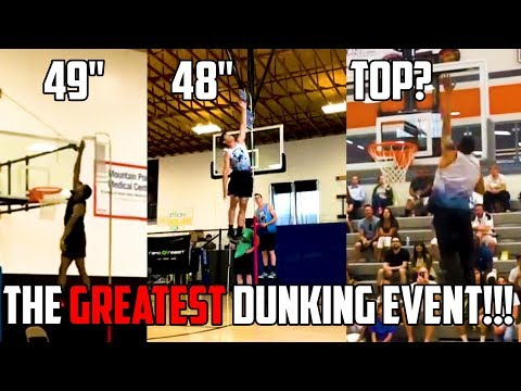 THE GREATEST DUNKING EVENT EVER!!!?