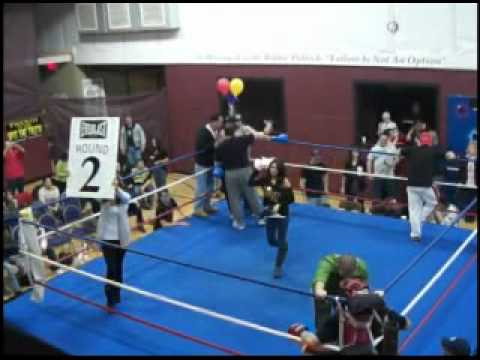 KEVIN CORCORAN FIRST FIGHT