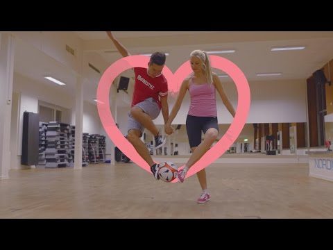 Football Freestyle With My Valentine | PWG