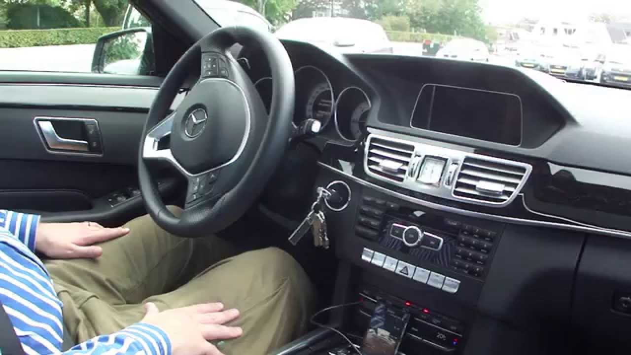 mercedes benz e220 cdi active parking assist - youtube