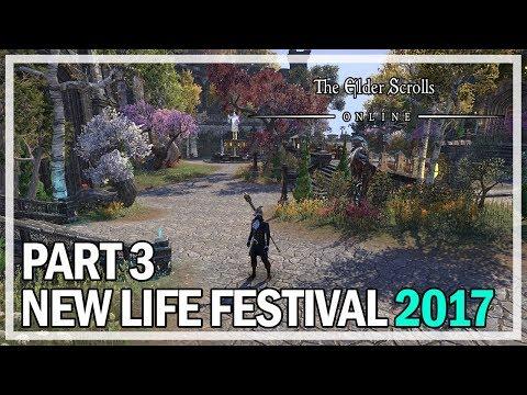 New Life Festival 2017 Event Part 3 - The Elder Scrolls Online Gameplay