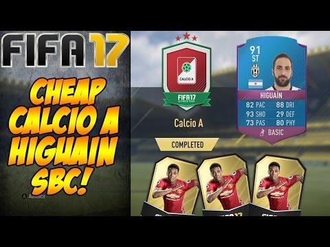 CHEAP Calcio A HIGUAIN SBC FIFA 17