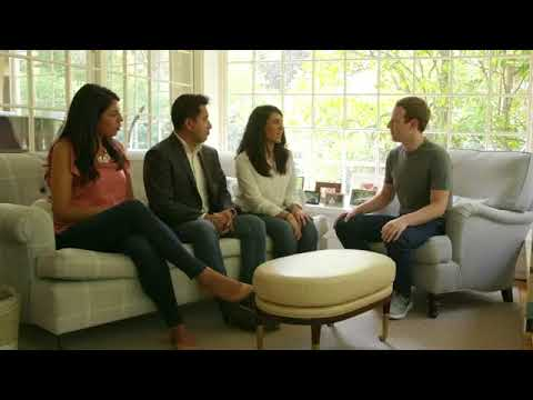 Dreamers at Mark Zuckerberg home