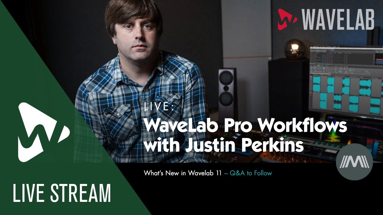 Download WaveLab Pro Workflows with Justin Perkins #9   What's New In WaveLab 11