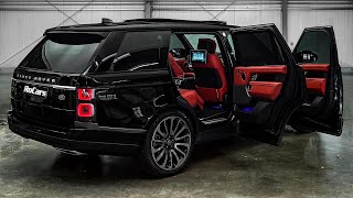 2021 Land Rover Range Rover L - Sound, Interior and Exterior in detail