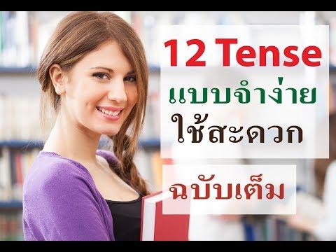 ติวเข้ม 12 Tense แบบจำง่ายใช้สะดวก ฉบับเต็ม  รวม 25 ตอน