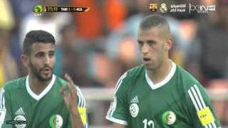 أهداف تنزانيا 2-2 الجزائر تصفيات كأس العالم 2018 تعليق حفيظ دراجي HD