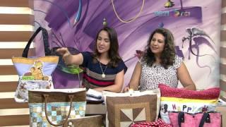 Bolsa escolar em patchwork – Edileny Gomes P1