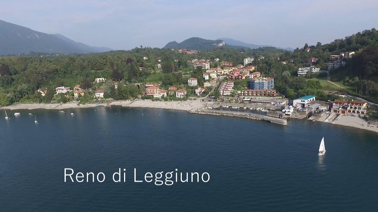 Video con drone realizzato alla spiaggia di reno di for Lago con spiaggia vicino a milano