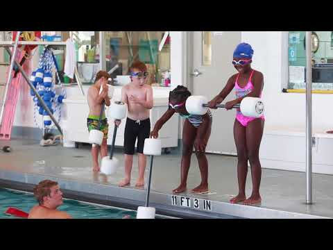 Swim lessons at Gulf Coast State College