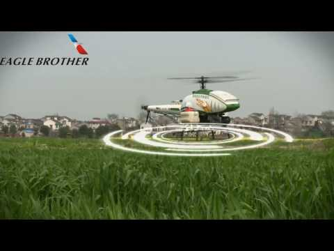 Heavy Lift 30L Drone for spraying by Eagle Brother