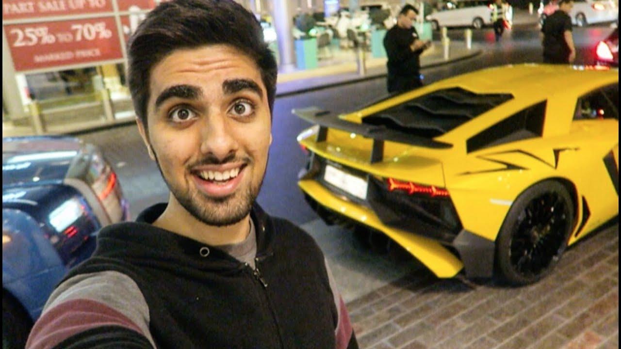 Richest Kid In Dubai >> Lamborghini Gold Digger prank with Friends !! Rich Kids of Dubai !!2016 MO vlogs - YouTube