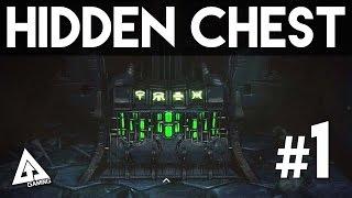 Destiny Crota's End Raid HIDDEN CHEST Location #1 | Destiny Dark Below Gameplay