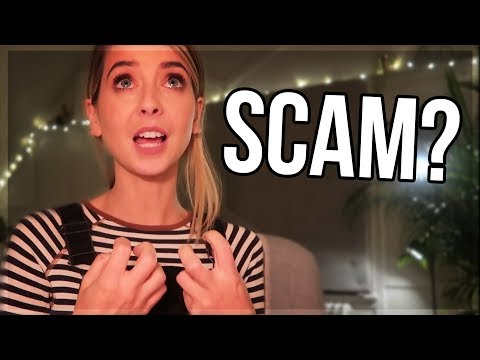 Zoella Advent Calendar Apology | Scam?