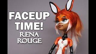 Faceup Time! Rena Rouge Miraculous Ladybug Faceup