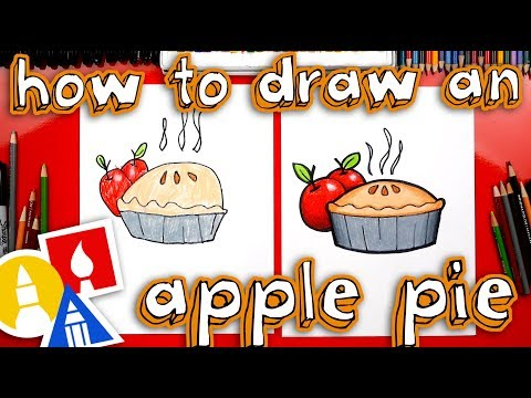 How To Draw An Apple Pie For Thanksgiving
