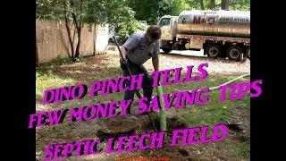 Cesspool, Septic, Leech Field Preventive Maintenance