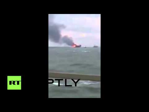 Azerbaijan: 32 killed after oil platform catches fire in Caspian Sea