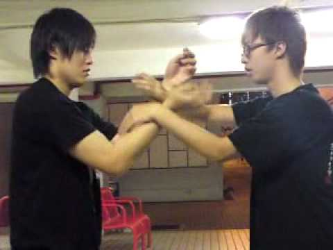 Wing Chun Kung Fu - Basic Sticking Hands Lesson By Alain Law, 4