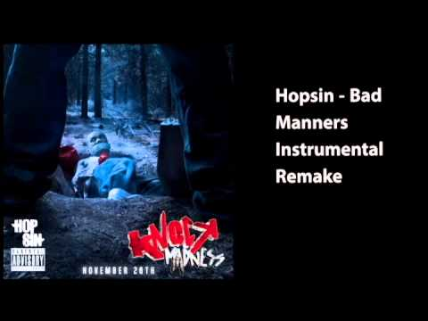 Hopsin - Bad Manners Instrumental Remake