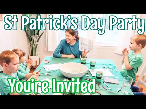 ST PATRICK'S DAY PARTY ~YOU'RE INVITED!