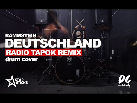Rammstein – Deutschland, Radio Tapok remix (drum cover)