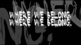 "Lostprophets - ""Where We Belong"" Lyrics thumbnail"