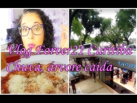 Vlog: Forever 21 em Curitiba, chuva, árvore caída.... | Angela Iaruchiski
