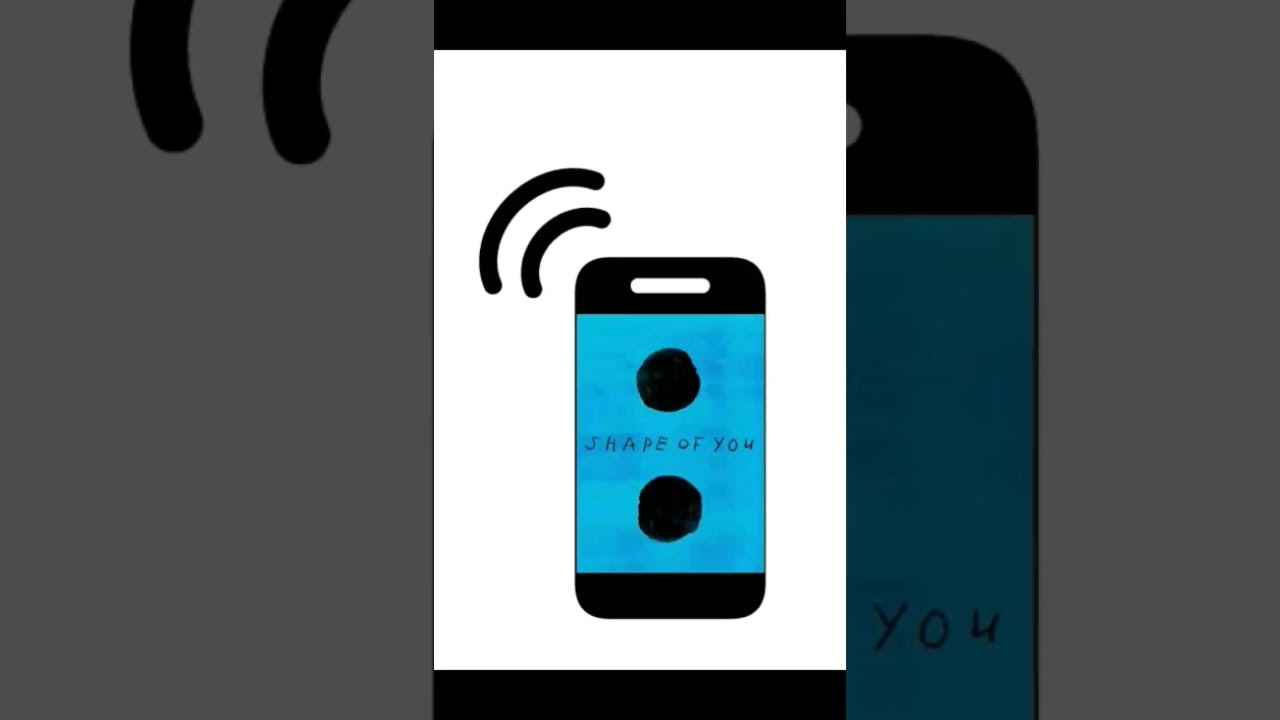 iphone ringtone shape of you