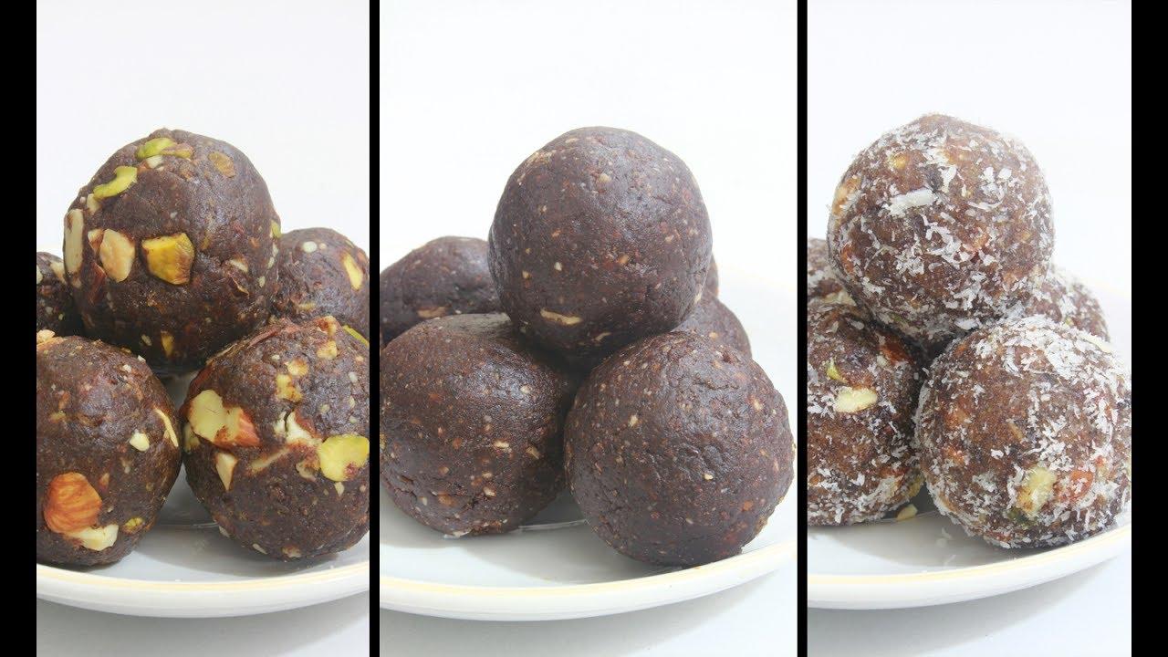 Ragi Chocolate Ladoo | TasteSpotting