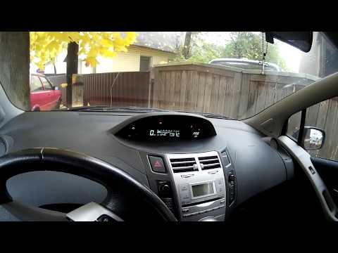 Фото к видео: Toyota Yaris MMT Робот обучение и инициализация акпп быстро своими силами без сканера