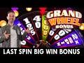 $45/SPIN Last Spin BIG WIN BONUS on GRAND WHEEL at Live ...