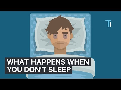 What Happens To Your Body And Brain If You Don't Get Sleep | The Human Body
