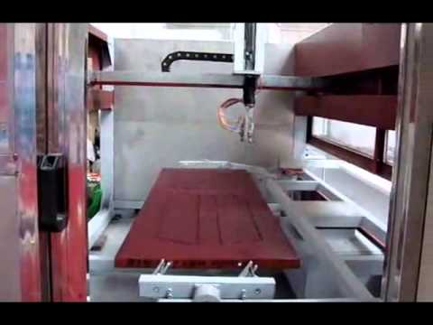 Cost To Paint A Car >> Wooden door spray painting machine/Automatic painting machine,Автоматическая окрасочная камера ...