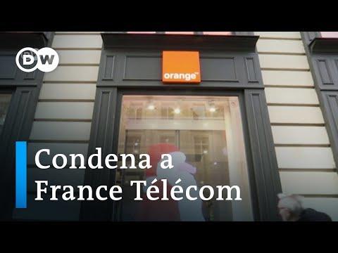"""France Télécom condenada por """"acoso moral"""""""