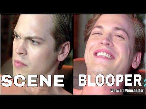 Supernatural Season 13 Gag Reel Bloopers VS Actual Scenes