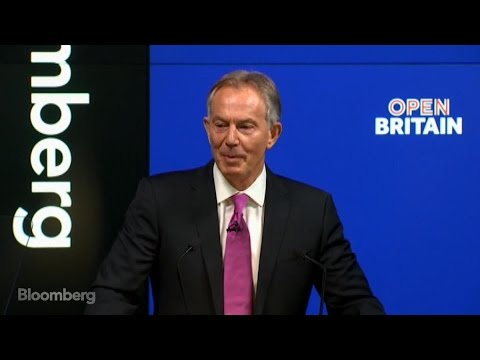 Blair Urges Brexit Opponents to Rise Up (Full Speech)