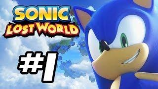 Sonic Lost World Gameplay Walkthrough - Part 1 - INTRO! - (Sonic Gameplay HD)