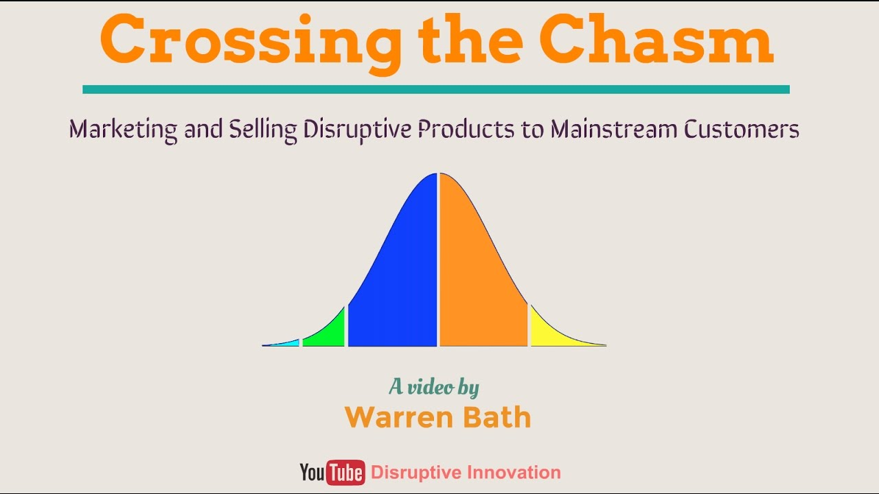 Crossing The Chasm - How to Get Disruptive Innovations Into Mainstream