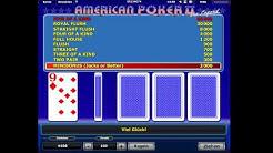 American Poker 2 Echtgeld - American Poker 2 online mit Echtgeld spielen