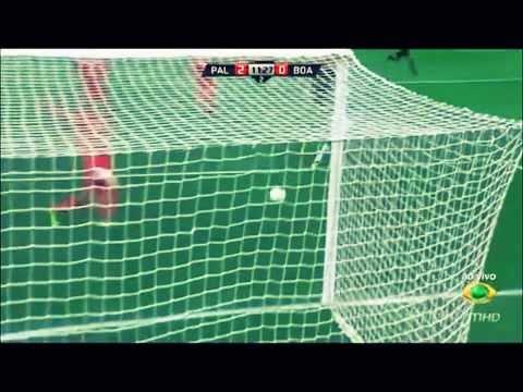 Alan Kardec and Leandro gols pelo Palmeiras