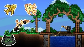 Better Looking Fishing Ponds | Terraria Build Tips