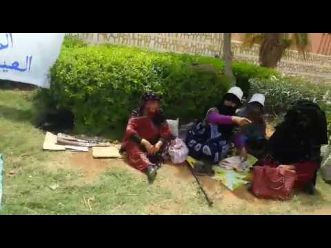 النساء المعتصمات يسقطن واحدة تلو الأخرى بسبب المبيدات في معتصمهن أمام ولاية جهة كليميم وادنون