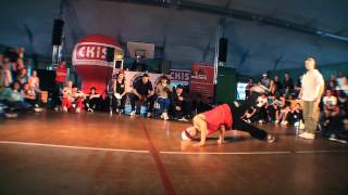 Pal Parkiet vol. VII Ćwierćfinał Bgirls  - Paulina vs Majka | WWW.BREAK.PL