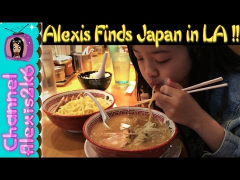 ALEXIS FINDS JAPAN IN LOS ANGELES?!| Travel Vlog | (Ep. 65)
